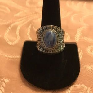 Large western fashion ring